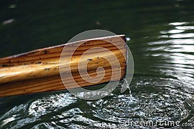 Rowing boat oar