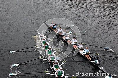 Rowing Collis HOTC Fotografía editorial