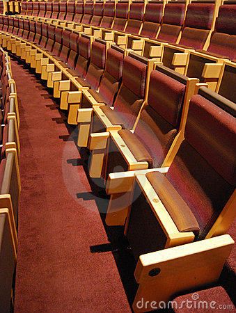 Free Rows Of Theater Seats Stock Photos - 6856693