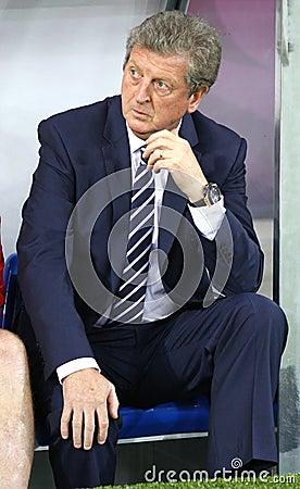Roy Hodgson - England football team head coach Editorial Stock Image