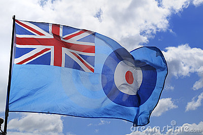 Royal Air Force or RAF Flag