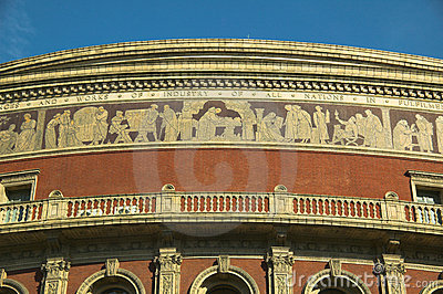 Royal Albert Hall, frieze