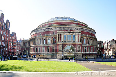 Royal albert hall, london Editorial Stock Image