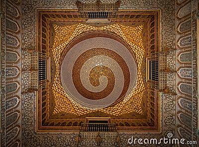Royal Alcazars Interior, Seville, Spain