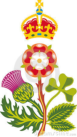 Royal Badge of United Kingdom of Great Britain