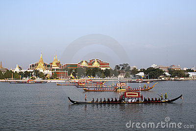 Royal Barge Procession Editorial Image