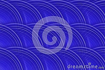Royal Blue Circular Background