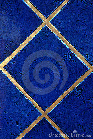 Free Royal Blue Tiles Royalty Free Stock Photo - 9463565