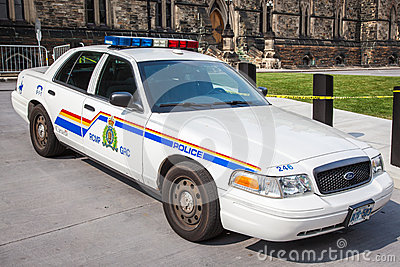 Royal Canadian Mounted Police - police car Editorial Image