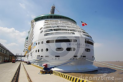 Voyager of the Seas Editorial Stock Image