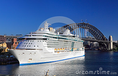 Royal Caribbean Cruises Radiance of the Seas Editorial Stock Image