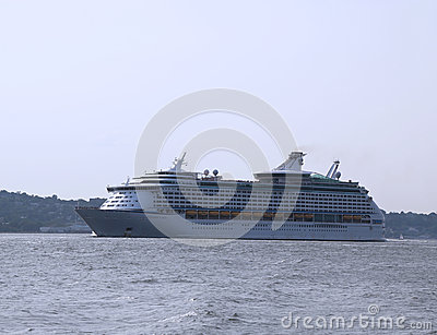 Royal Caribbean Explorer of the Seas Cruise Ship l Editorial Photography