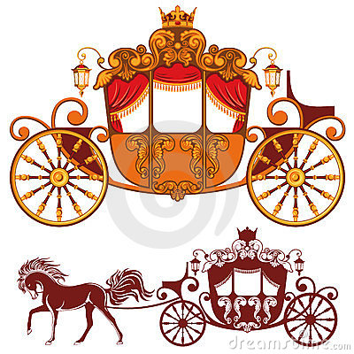 Free Royal Carriage Royalty Free Stock Photography - 24070347