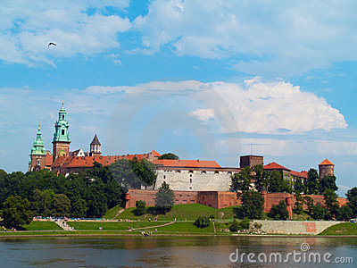 Royal castle, Krakow, Poland