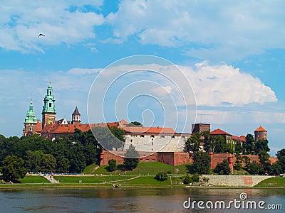 Royal castle, Krakow, Poland