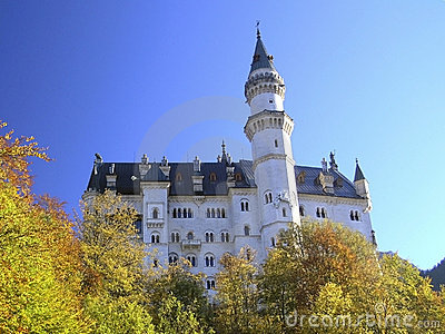Royal castle Neuschwanstein