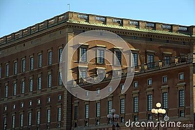Royal castle Stockholm Sweden
