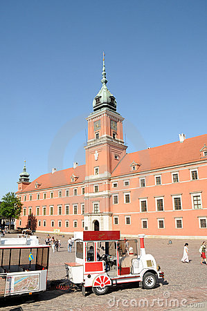 Royal Castle in Warsaw, Poland Editorial Stock Image