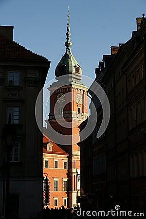 Royal Castle in Warsaw, Poland