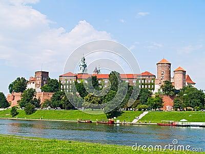 Royal castle in Wawel, Poland