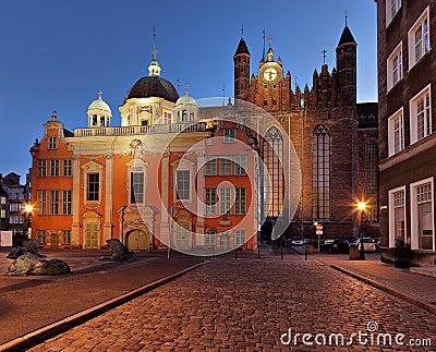 The Royal Chapel in Gdansk
