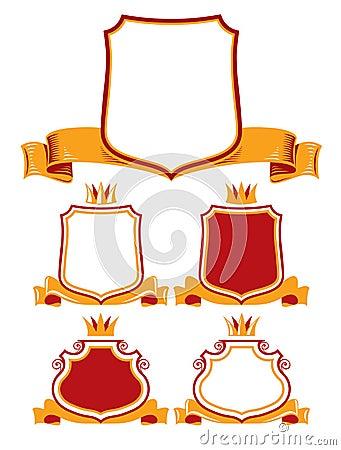 Royal classic emblems.