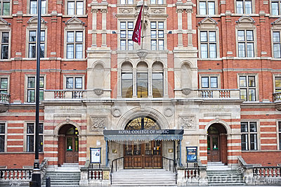 Royal College of Music, London Editorial Photo