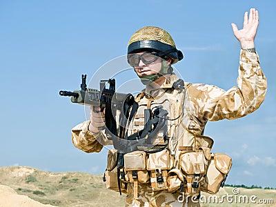 Royal commando