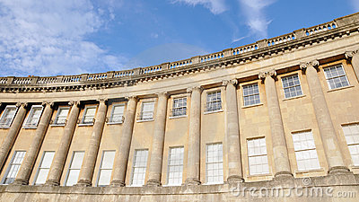 Royal Crescent in Bath England