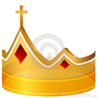 Royal Cross Gold Crown