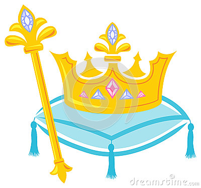 Royal Crown and Scepter/eps