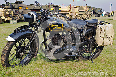 Royal Enfield Editorial Stock Image