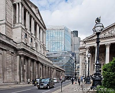 Royal Exchange London Editorial Stock Photo