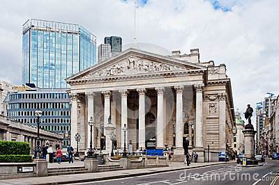 Royal Exchange London Editorial Photo