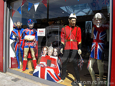 Royal family costumes Editorial Stock Photo