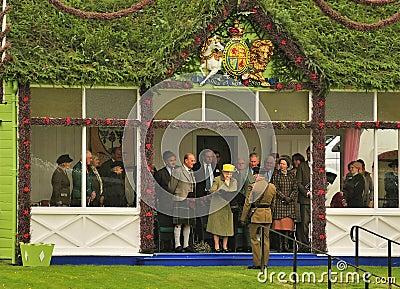 Royal family Presentation Editorial Stock Image