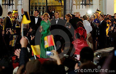 Royal family of Romania Editorial Stock Image