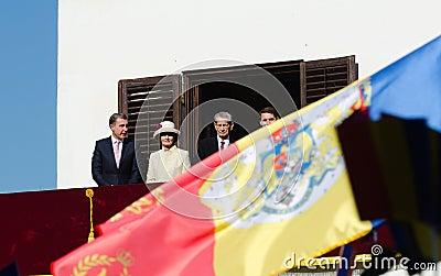 Royal Family of Romania Editorial Stock Photo