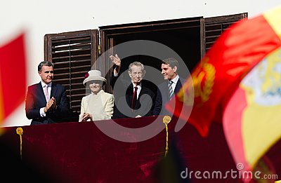 Royal Family of Romania Editorial Stock Photo