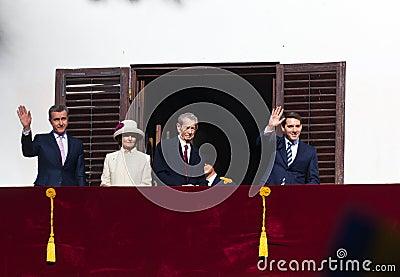 Royal Family of Romania Editorial Photography