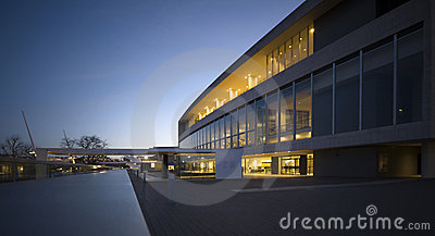Royal Festival Hall, London at Dawn
