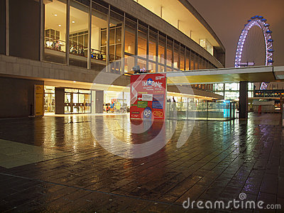 Royal Festival Hall London Editorial Photography
