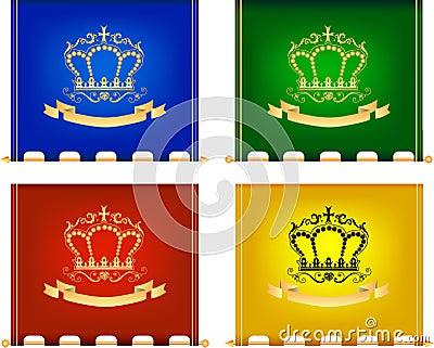 Royal flags