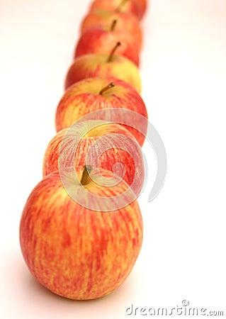 Royal Gala apples