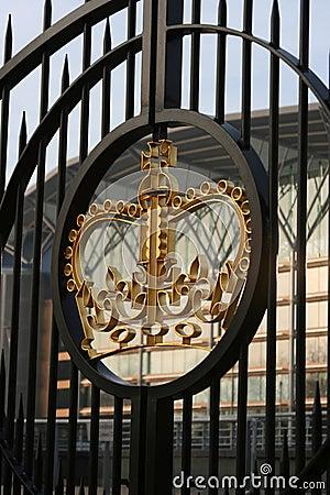 Free Royal Gates Stock Image - 1884731