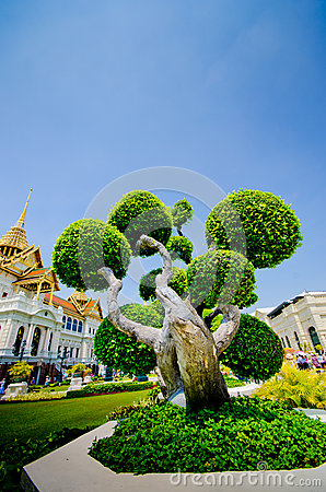 The Royal Grand Palace , Thailand.