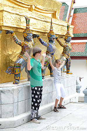 The Royal Grand Palace, Thailand Editorial Stock Image