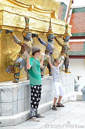 The Royal Grand Palace, Thailand Editorial Stock Image