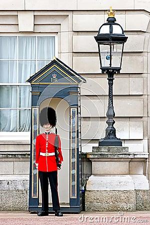 Free Royal Guard At Buckingham Palace Royalty Free Stock Photography - 8355207