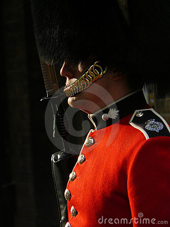 Royal guard in London Editorial Stock Photo